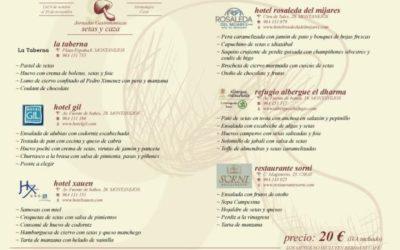 Jornadas Gastronómicas de Setas y Caza 2015