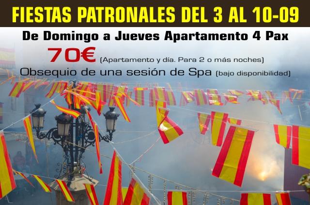Fiestas Patronales de Montanejos 2016