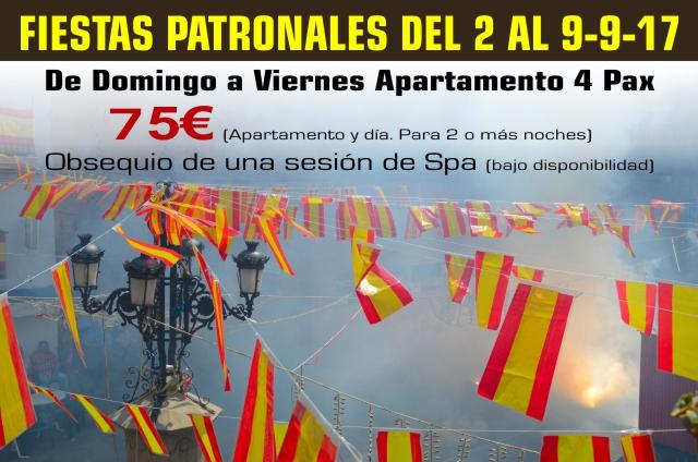 Fiestas Patronales de Montanejos 2017