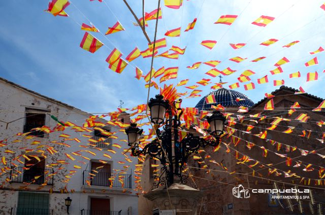 Fiesta en Montanejos - Rio Mijares - Apartamentos Campuebla en Montanejos